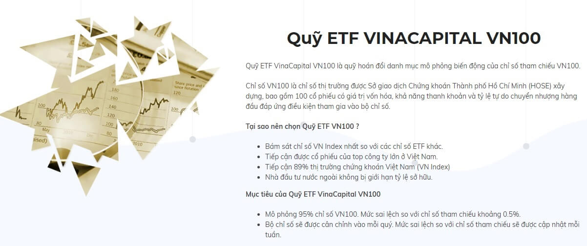 Quỹ ETF của Vincapital