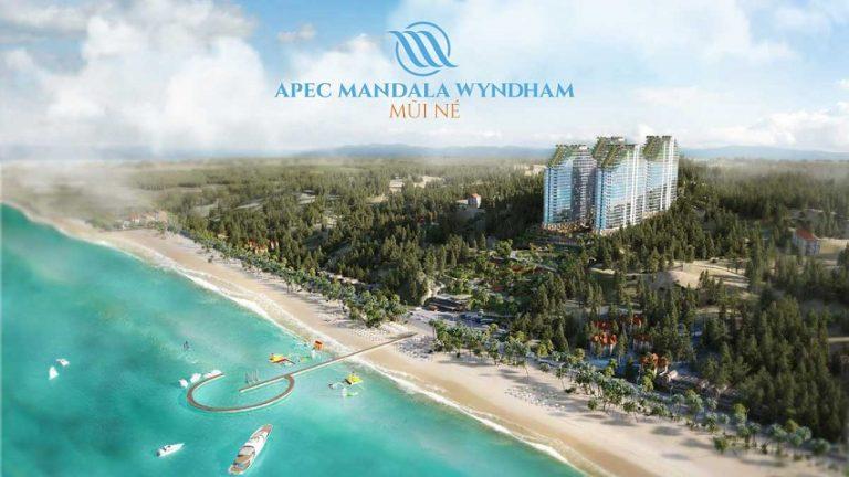 Phối cảnh dự án PEC Mandala Wyndham Mũi Né của IDJ